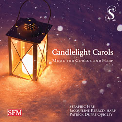 Candlelight Carols: Music for Chorus and Harp